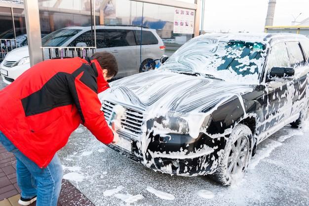 autoshampoo op auto