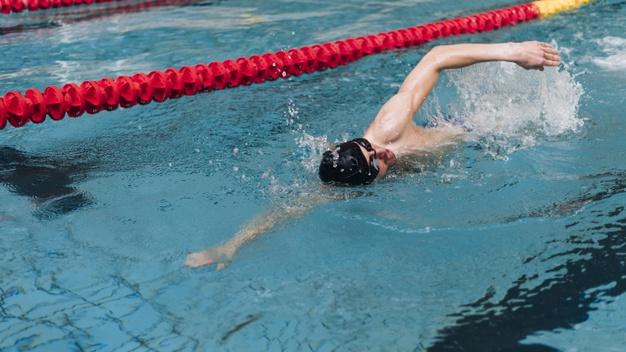zwemmen man